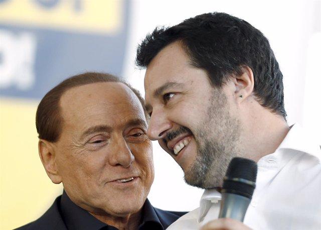 Berlusconi y Salvini