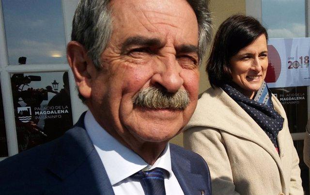 Miguel Ángel Revilla y Gema Igual