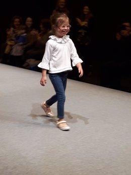 Desfile de calzado infantil en la quinta edición de Momad Shoes
