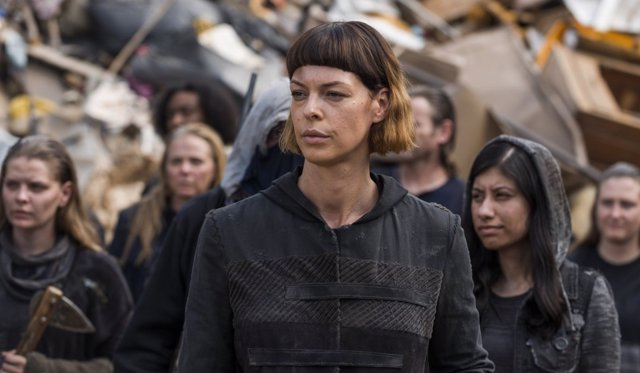 Pollyanna McIntosh en The Walking Dead