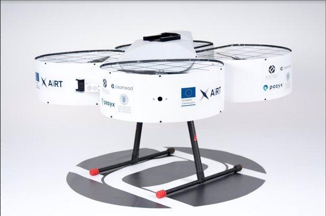 Diseñan un innovador dron para la industria creativa