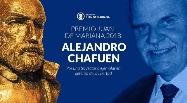Premio Juan de Mariana 2018 a Alejandro Chafuen