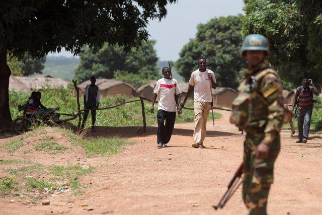 Militar de la misión de la ONU en República Centroafricana