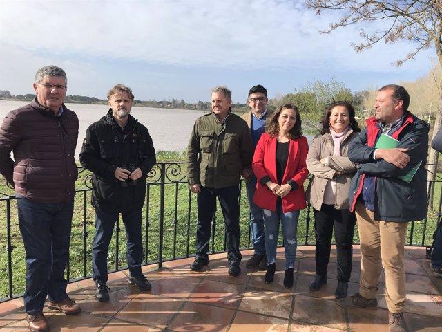 Presentación en Almonte (Huelva) del censo de aves acuáticas invernantes