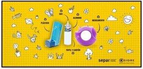 Campaña para reciclar los inhaladores vacíos (SEPAR Y SIGRE)