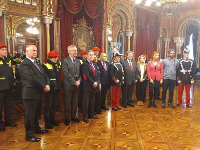 Firma Pacto por la Seguridad en Bilbao