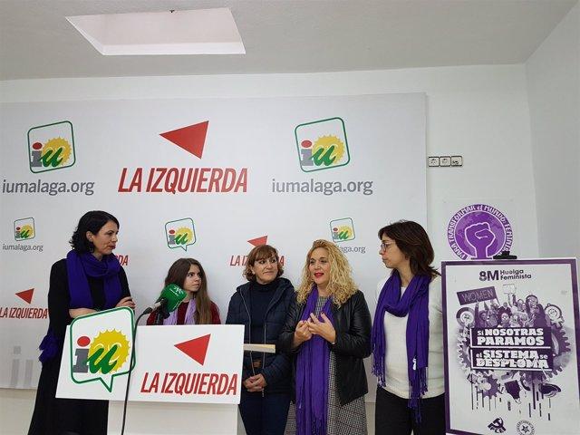 Nota Y Foto De La Rueda De Prensa Sobre Huelga General Del 8M