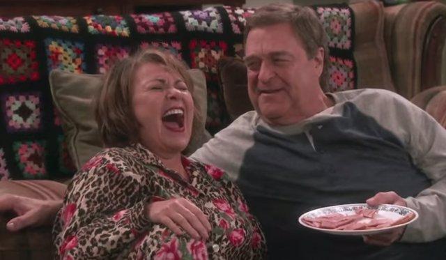 Roseanne Barr y John Goodman