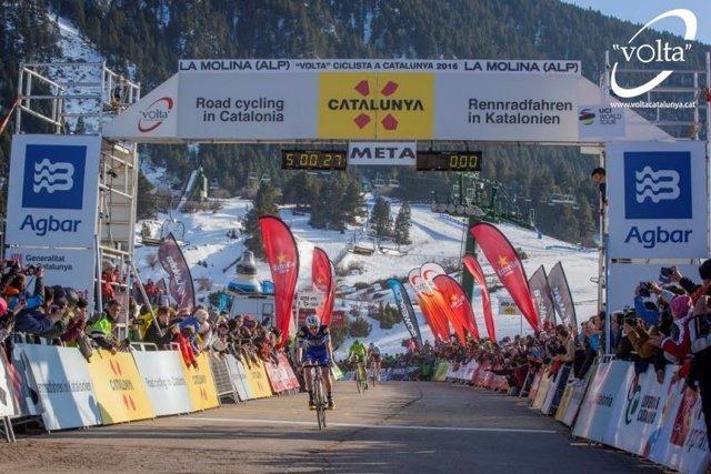Daniel Martin gana en La Molina