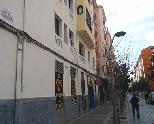 Imagen de la calle María Teresa Gil de Gárate