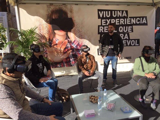 Experiencia de realidad virtual en Las Naves