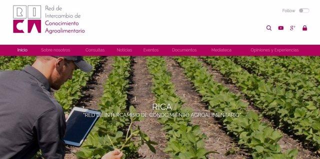 Red de Intercambio de Conocimiento Agroalimentario.