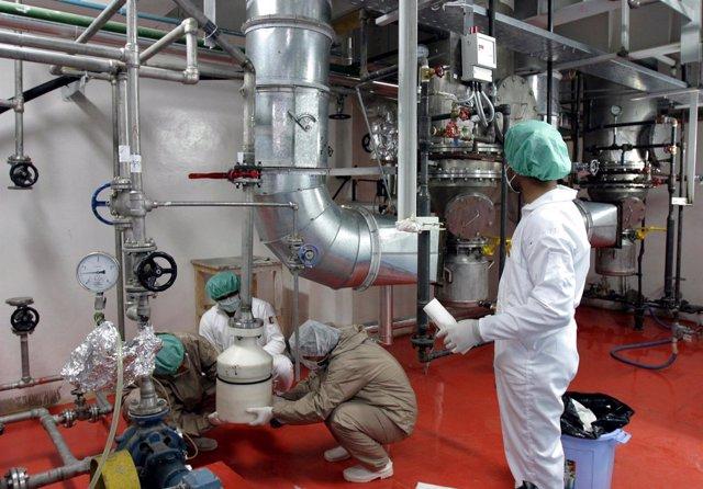 Planta nuclear de Natanz en Irán