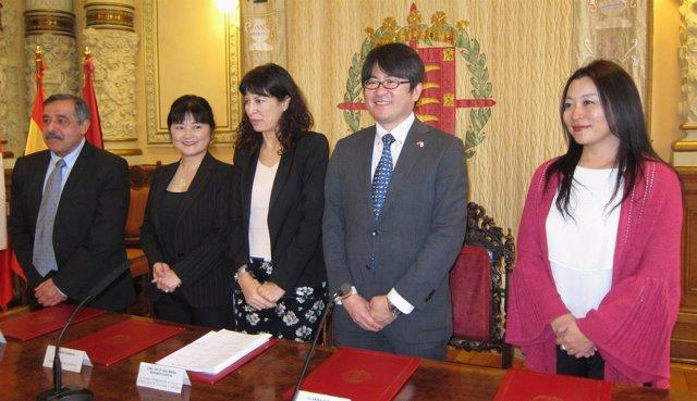 Presentación de la conmemoración del 150 aniversario España-Japón