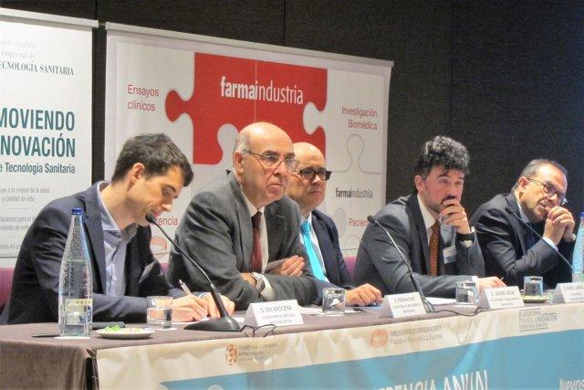 I.Arocena, F.Sanz, J.Urzay y J.Samitier