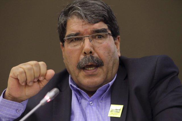Salih Muslim, líder del PYD