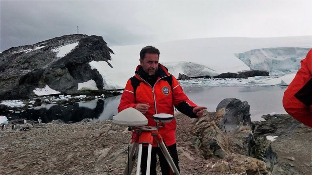 El capitán de fragata Javier Montojo, fallecido en la Antártida