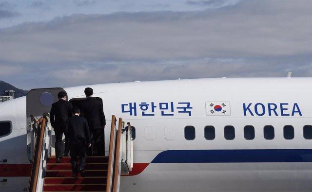 Visita de una delegación surcoreana a Corea del Norte