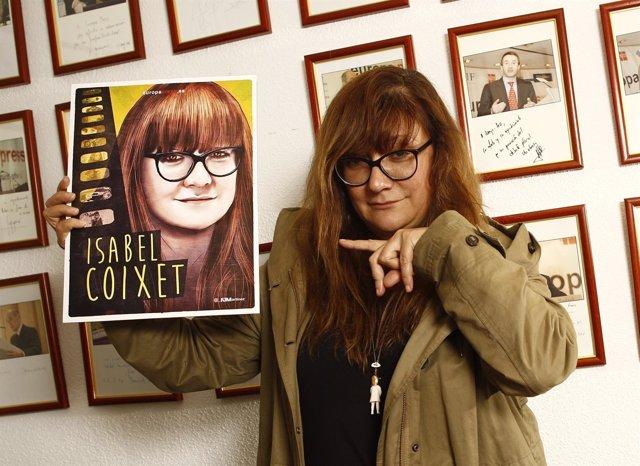 Isabel Coixet en Europa Press con su ilustración