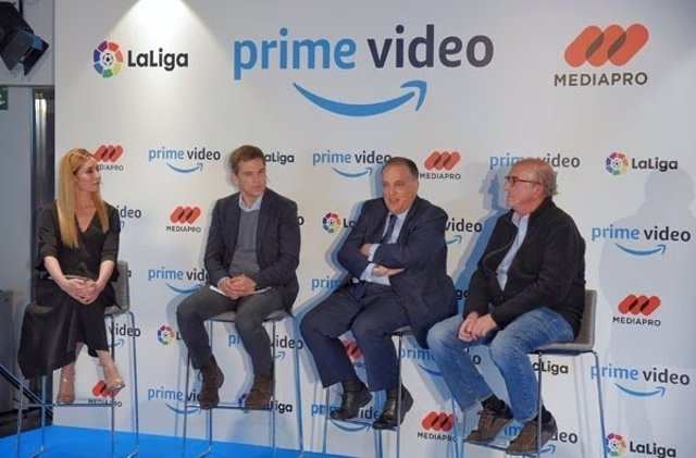 Jaume Roures Javier Tebas Six Dreams Mediapro Amazon