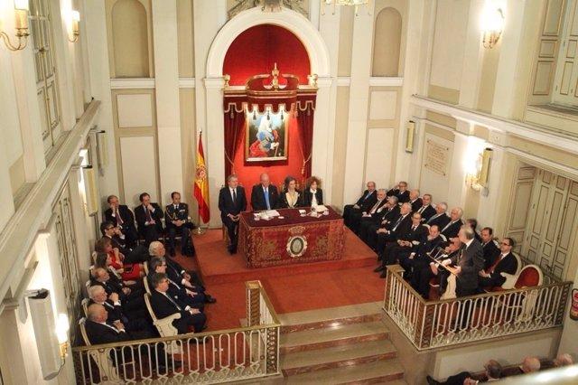 Las Reales Academias rinden homenaje al Rey Juan Carlos por su 80 cumpleaños