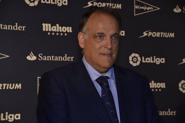 Javier Tebas Premios de la Asociación de la Prensa Deportiva de Madrid