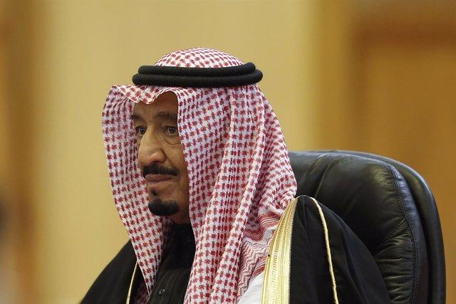 El rey Salman