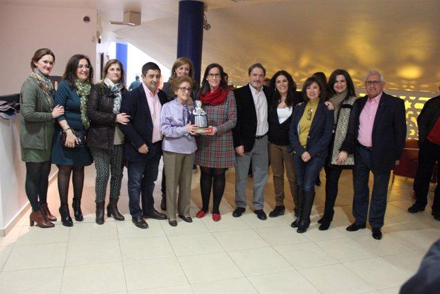 Entrega del V Premio Las 13 Rosas a Ángeles Cobo