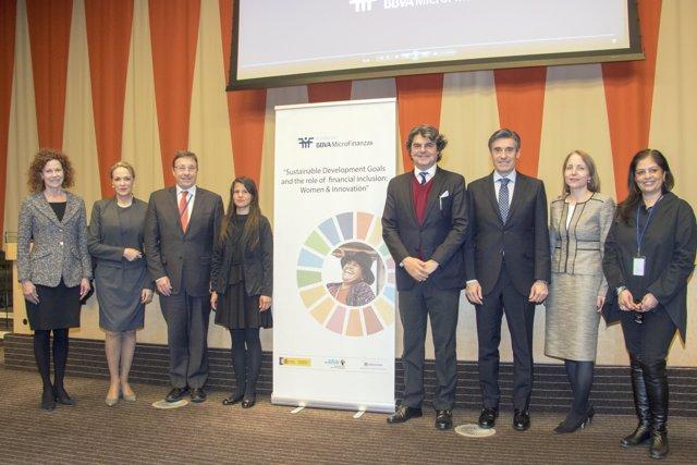 La Fundación Microfinanzas BBVA lleva la voz de sus emprendedoras a Naciones Uni