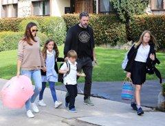 Ben Affleck y Jennifer Garner, juntos de nuevo por sus hijos