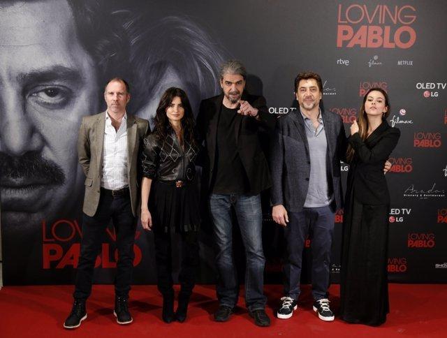 Penélope Cruz, Javier Bardem y Fernando León de Aranoa presentan Loving Pablo