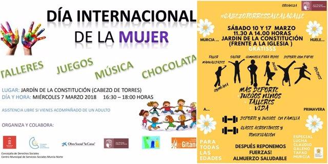 Cabezo de Torres acoge talleres, juegos, música y una chocolatada ...