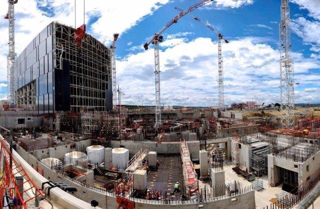 Construcción de Iter en Cardarache (Francia) en junio