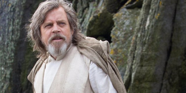 Luke Skywalker en Star Wars: The Last Jedi