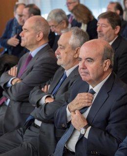 Chaves, Griñán y Zarrías en el juicio por los ERE
