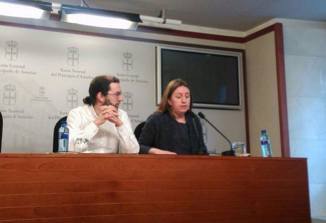 Emilio león y Lorena Gil.