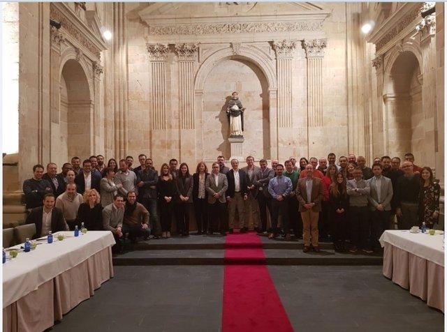 Reunión de directivos de Global Exchange en Salamanca.