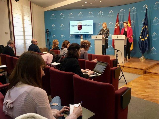 Foto/ Rueda De Prensa Consejo De Gobierno