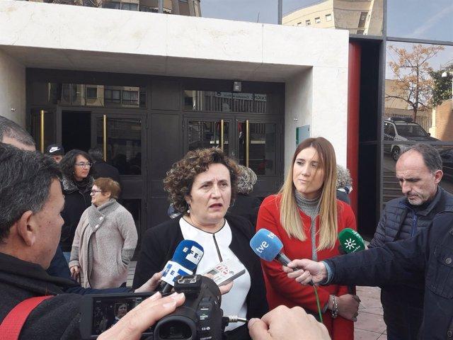 La asesora jurídica del Centro de la Mujer de Maracena, Francisca Granados.