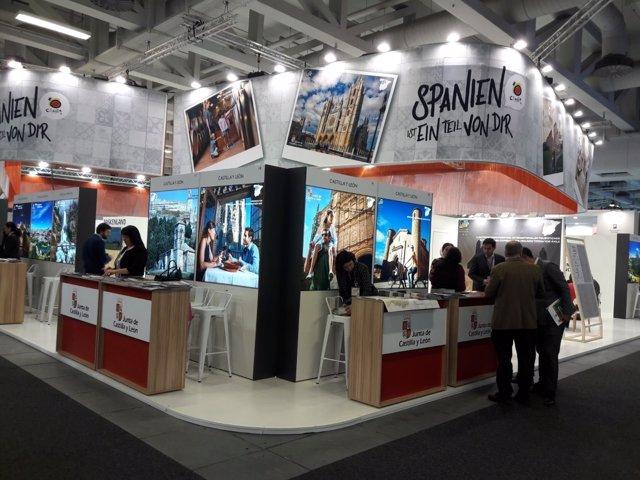 La Junta participa en la Feria ITB de Berlín.