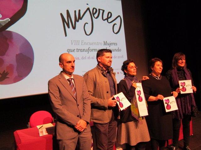 Presentación De Mujeres Que Transforman El Mundo
