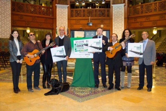 Presentación de la 16 Bienal de Música de la ONCE