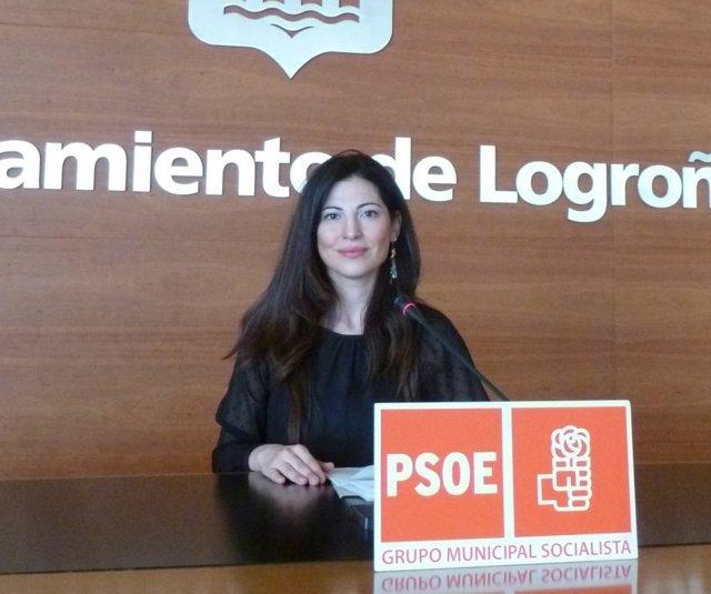 La concejala del PSOE Izaskún Fernández