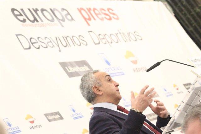 Desayuno Deportivo de Europa Press con Alejandro Blanco