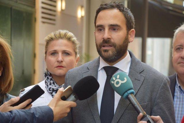 Daniel Pérez, en rueda de prensa