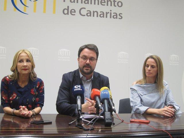 Rueda de prensa del PP sobre RTVC