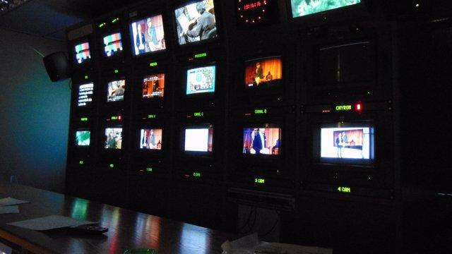 Recurso IB3, televisión, plató