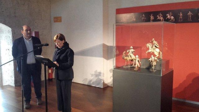 María Bolaños presenta las obras incorporadas al Museo de Luisa Roldán
