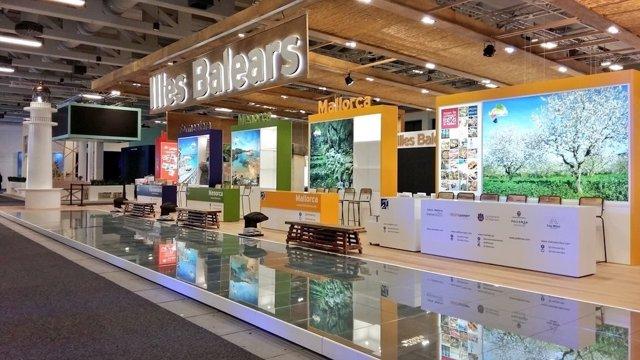 Stand de Baleares en la ITB de Berlín 2018