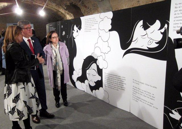 Inauguración de la exposición sobre el libro.
